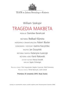 TRAGEDIA MAKBETA - Teatr Słowackiego