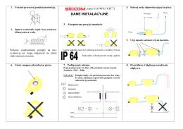 Instrukcja Siccom II
