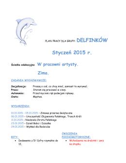 DELFINKÓW Styczeń 2015 r.