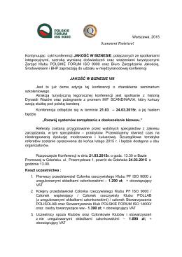 Informator - Biuro Zarządzania Jakością, Środowiskiem i BHP Sp. z oo