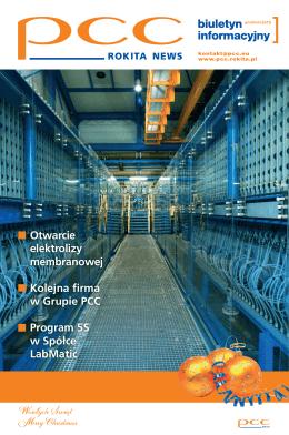 Otwarcie elektrolizy membranowej Kolejna firma w