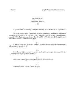 20121221 SP3 zamiar likwidacji