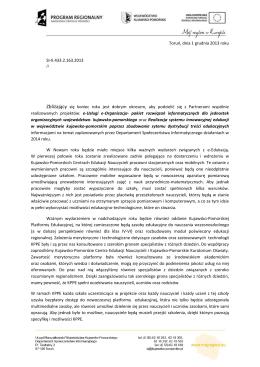 Pismo - kluczdouczenia2.pl