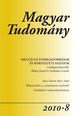 1•8 - Magyar Tudomány