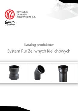 Rury kielichowe - Koneckie Zakłady Odlewnicze