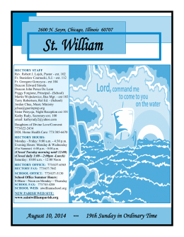 St. William - Amazon Web Services