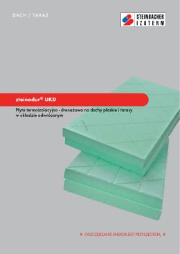 Ulotka steinodur® UKD