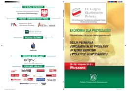 Sesja Plenarna - Kongres Ekonomistów Polskich