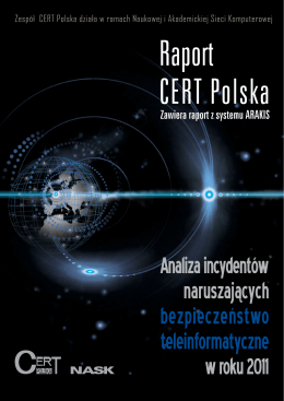 raport roczny CERT Polska za rok 2011.