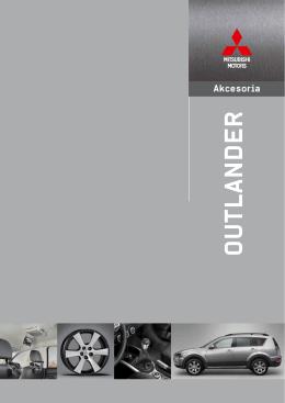 AKCESORIA OUTLANDER MY12 pobierz katalog - Auto