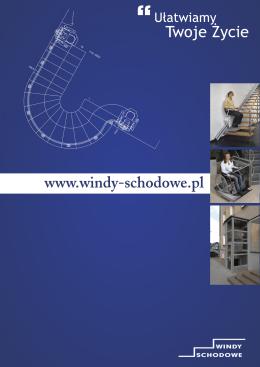 Katalog produktów firmy Windy schodowe