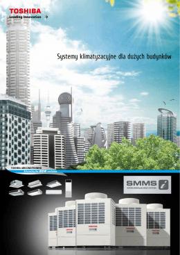 Systemy klimatyzacyjne dla dużych budynków