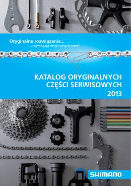 Katalog oryginalnych części serwisowych