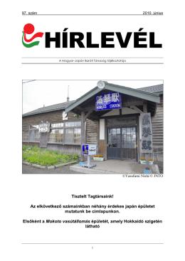 június - A Magyar-Japán Baráti Társaság honlapja