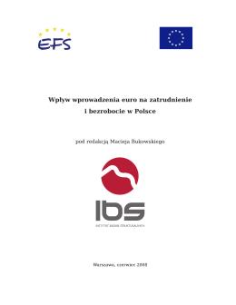 Wpływ wprowadzenia euro na zatrudnienie i bezrobocie w Polsce