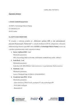 Pobierz PDF z zapytaniem ofertowym.