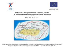 Historyczno-kulturowo-przyrodniczy Szlak wokół Tatr