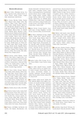 Erdészeti Lapok 146. évf. 7-8. sz. (2011. július