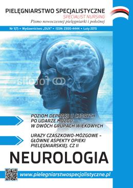 Neurologia - Pielęgniarstwo Specjalistyczne
