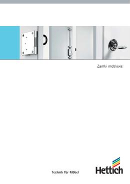 Katalog Zamki meblowe