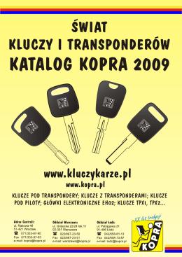 klucze pod transponder