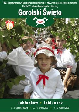 Program 62. Gorolskigo Święta (pdf)