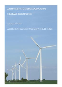 A fenntartható energiagazdálkodás földrajzi összefüggései