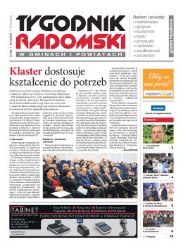 Tygodnik Radomski w Gminach i Powiatach