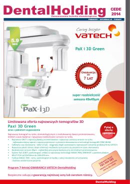PaX i 3D Green - DentalHolding