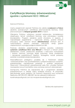 Szkolenie_certyfikacja biomasy_listopad