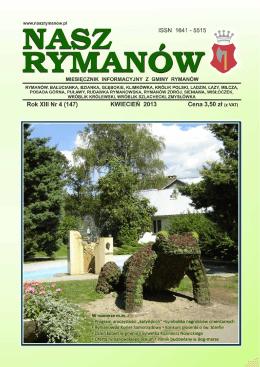 Kwiecień PDF - Nasz Rymanów
