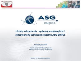 M. Ryczywolski - Układy odniesienia i systemy