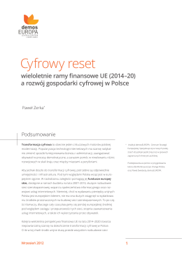 Cyfrowy reset. Wielolet