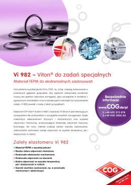 Vi 982 – Viton® do zadan specjalnych