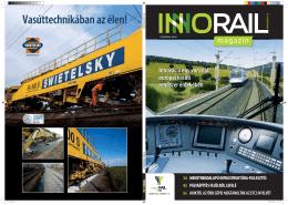 Innováció egy vonzóbb európai vasúti rendszer