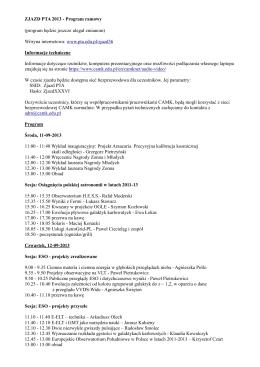 Pobierz program jako plik PDF