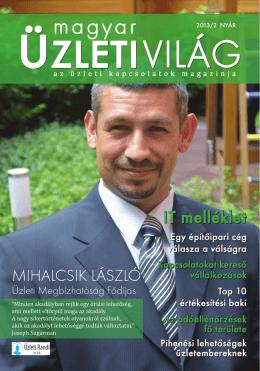 Magyar Üzleti Világ - 2013. nyári száma - Man