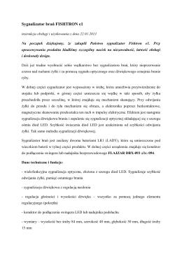 Sygnalizator brań FISHTRON e1 - Carp