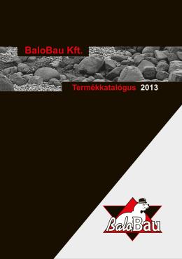 Katalógus - BaloBau Kft.