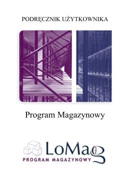 pobierz instrukcję - Program Magazynowy LoMag