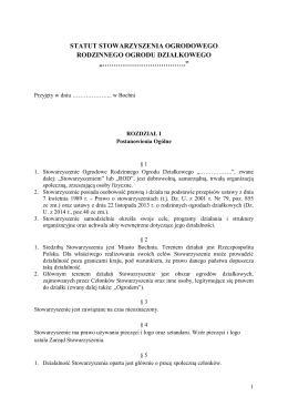 statut stowarzyszenia ogrodoweg