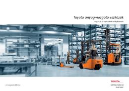 Toyota targoncakatalógus letöltése