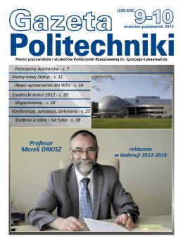 gazeta politechniki - Politechnika Rzeszowska