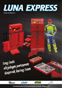 Teng Tools oficjalnym partnerem Kasprzak Racing