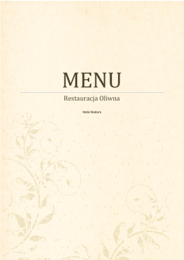 menu do pobrania