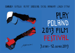 Play Poland Film Festival brochure