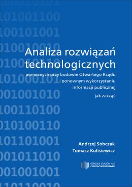 2. Trendy informatyczne istotne z perspektywy otwartego rządu i