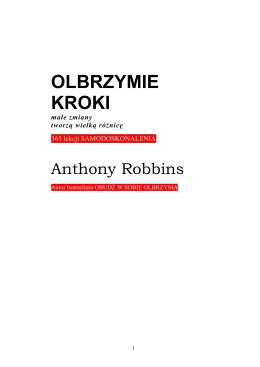 Anthony Robbins - Olbrzymie kroki