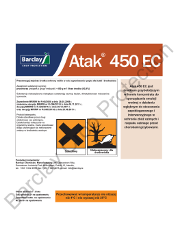 Atak® 450 EC Label - Barclay Chemicals
