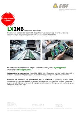 LX2NB ulotka